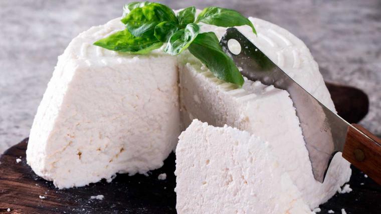 El formatge Ricotta és un dels més saludables
