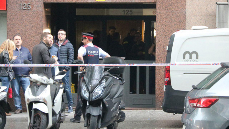 Maten un home a tirs a Barcelona