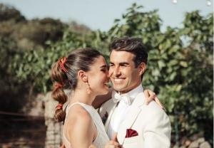 Candela Serrat i el seu marit Dani Muriel