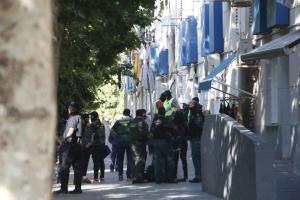 Dispositiu antidroga al Prat de Llobregat