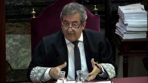 El fiscal Javier Zaragoza ha llegit les seves conclusions al judici del procés