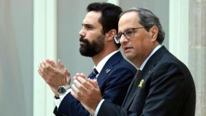 El president del Parlament, Roger Torrent, i el president de la Generalitat, Quim Torra, també assistiran a l'últim dia del judici