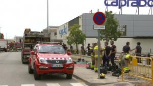 Fins al lloc dels fets s'han desplaçat vuit dotacions dels bombers