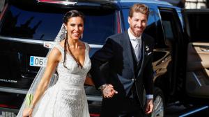 La parella va celebrar el casament en una enorme finca