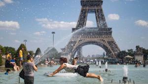 L'onada de calor es preveu excepcional a França