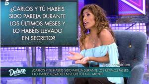 Miriam Saavedra ha reconegut que s'ha vist amb Carlos Lozano