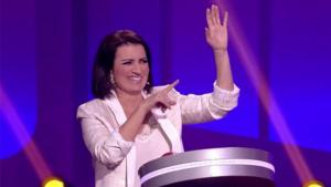 Silvia Abril ha estat presentant 'Juego de juegos' a Antena 3