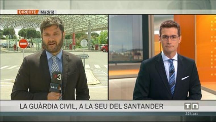 El periodista informa habitualment des de Madrid
