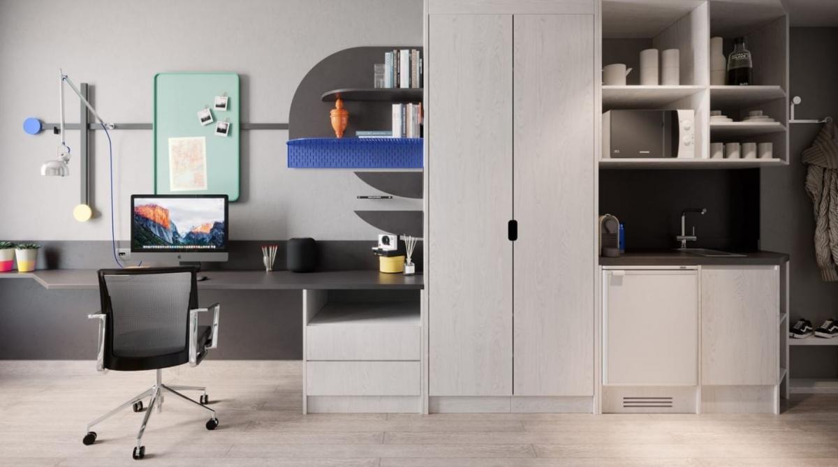 El preu d'una habitació oscil·la entre els 1.100 i els 2.000 euros