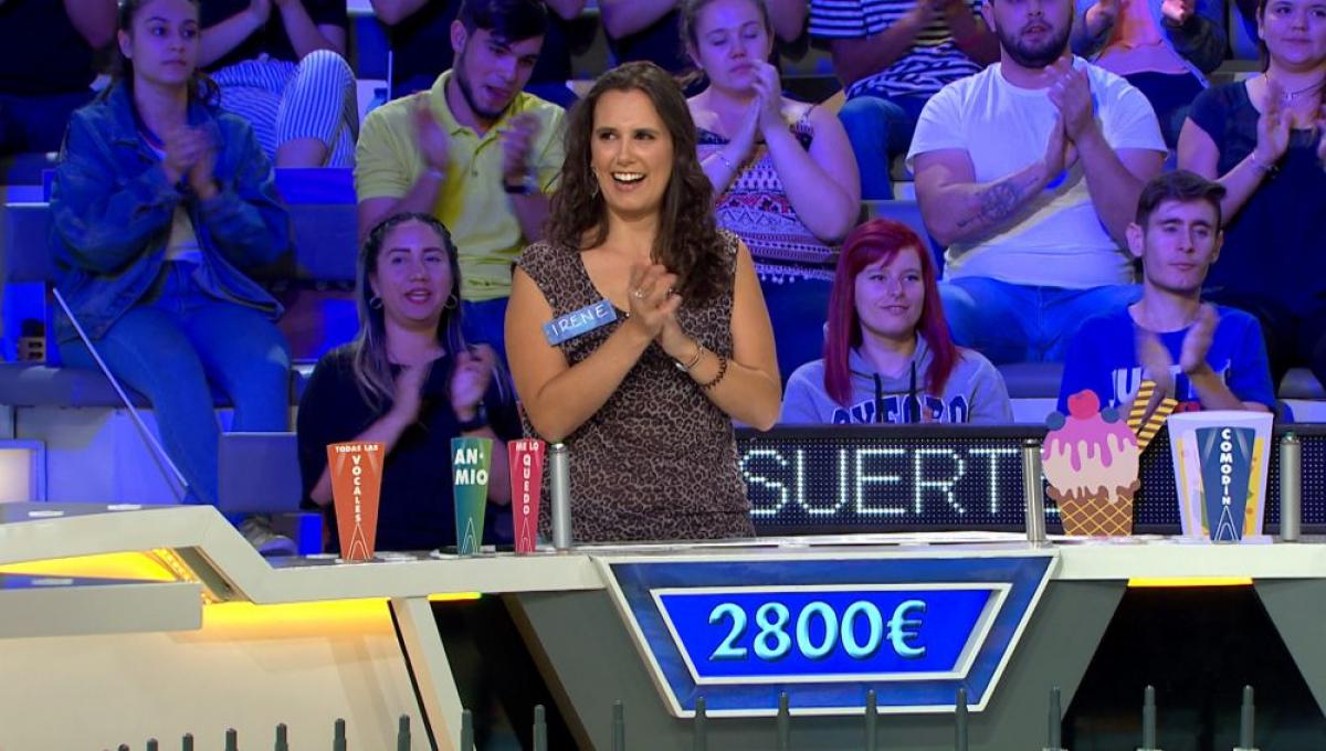 Irene va aconseguir fer-se amb més de 12.000 euros