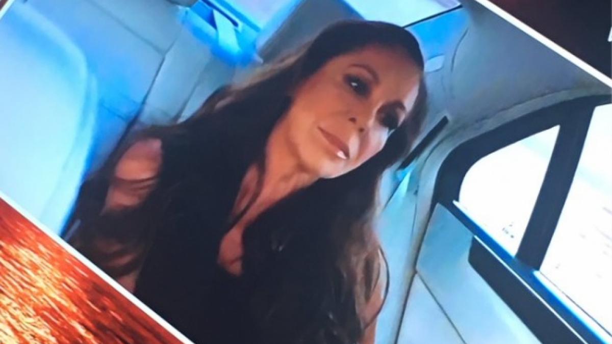 Isabel Pantoja va viatjar en un cotxe sense cinturó de seguretat