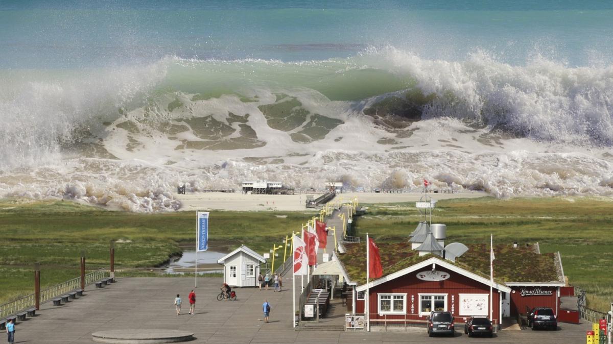 Simulació d'un tsunami