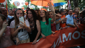 La comitiva de Ciutadans va viure en la seva pròpia pell el rebuig dels manifestants