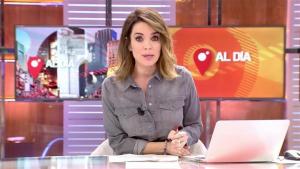 La periodista Carme Chaparro és la presentadora del programa 'Cuatro al día'