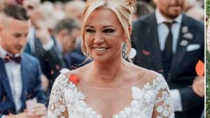 Revelats els detalls del vestit de núvia de Belén Esteban