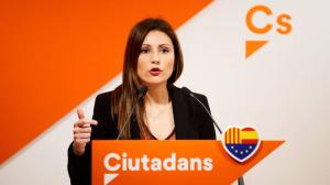 Roldán, la portaveu al Congrés en substitució d'Arrimadas