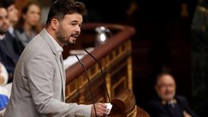 Rufián, aquest dijous al Congrés