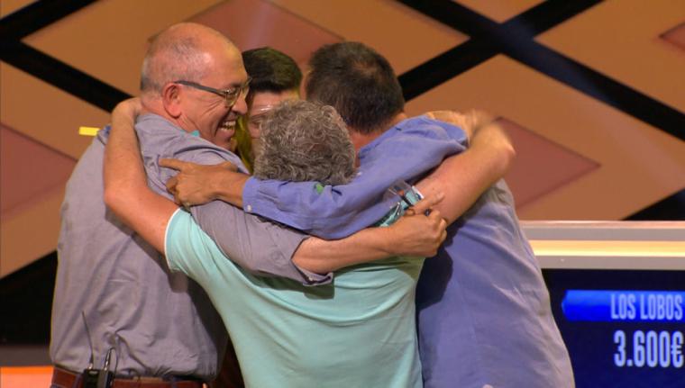 'Los Lobos' celebrant la victòria