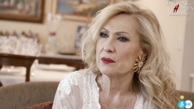 Rosa Benito es va emocionar en parlar de Rocío Jurado