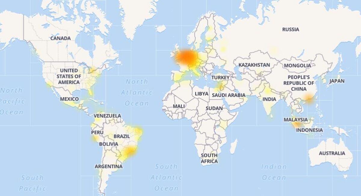 Els usuaris de WhastApp no han tingut tants problemes com els de Facebook o Instagram