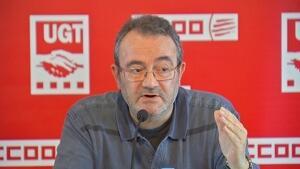 Joan Maria Sentís, en veu de CCOO, ha assegurat que prendran les mesures necessàries perquè la iniciativa no arribi al Consell