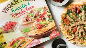 La pizza vegana de Mercadona és de ruca, tomàquet sec i proteïna de soja