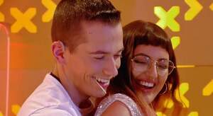 Sergio i Tayana a 'Me quedo contigo'
