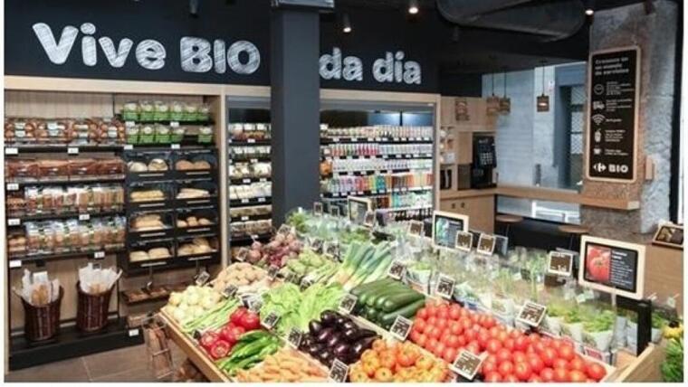 Imatge de la secció 'Bio' de Carrefour