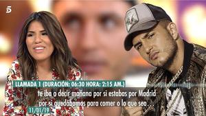 Chabelita i Omar Montes van mantenir el contacte després de tallar