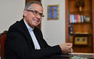 Imatge de monsenyor Joan Planellas, arquebisbe de Tarragona i president de la Conferència Episcopal Tarraconense.