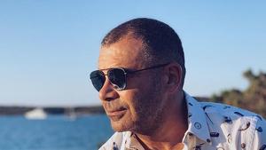 Jorge Javier Váquez en una de les fotografies que ha compartit durant les seves vacances