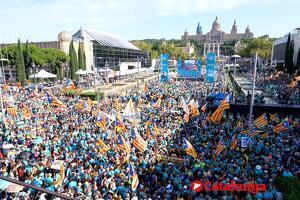 Consulta aquí les imatges de la manifestació de Diada d'aquest 2019 a Barcelona.