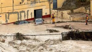Les pluges han estat torrencials a també a València