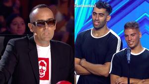 Risto Mejide arremet contra un grup de concursants acròbates marroquins
