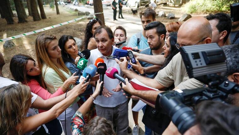La família de Blanca Fernández Ochoa, conjuntament amb voluntaris, amics i efectius, treballa per trobar l'exatleta