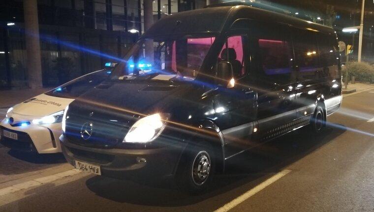 La Guàrdia Urbana atura un 'Discobús' il·legal amb el conductor drogat a Barcelona