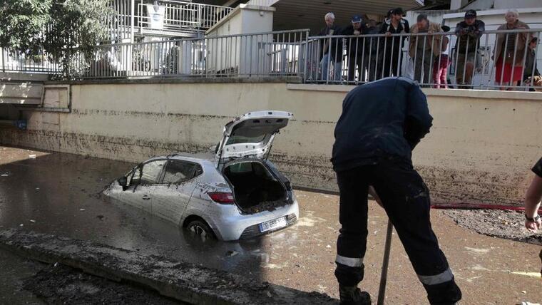 Les pluges torrencials han causat estralls a tota la geografia espanyola