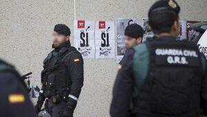 Agents dels Grups de Reserva i Seguretat de la Guàrdia Civil