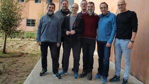 Imatge dels polítics presos a Lledoners