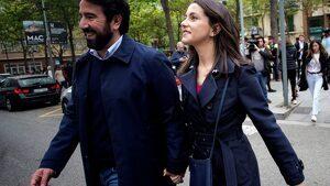Inés Arrimadas amb el seu marit, Xavier Cima