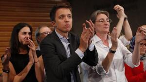 Iñigo Errejón desprès de decidir presentar-se amb Más País al 10-N