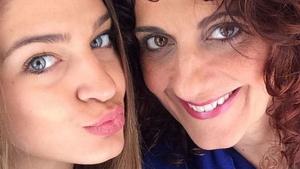 Laura Escanes i la seva mare sempre han estat molt unides