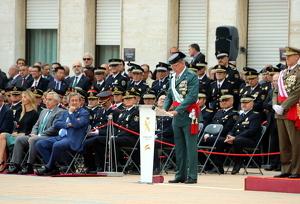 Pedro Garrido, el cap de la Guàrdia Civil a Catalunya, ha assegurat que combatran qualsevol resposta violenta a la sentència