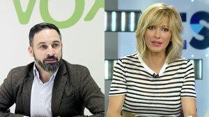Susanna Griso ha entrevista al líder de Vox