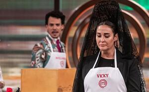 Vicky Martin Berrocal rep una bona esbroncada de Jordi Cruz