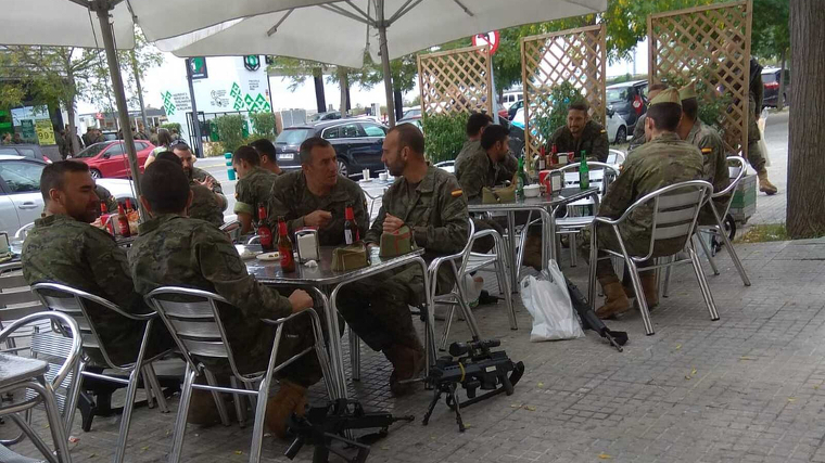 L'Exèrcit no veu proves per demostrar que els legionaris haguessin begut alcohol