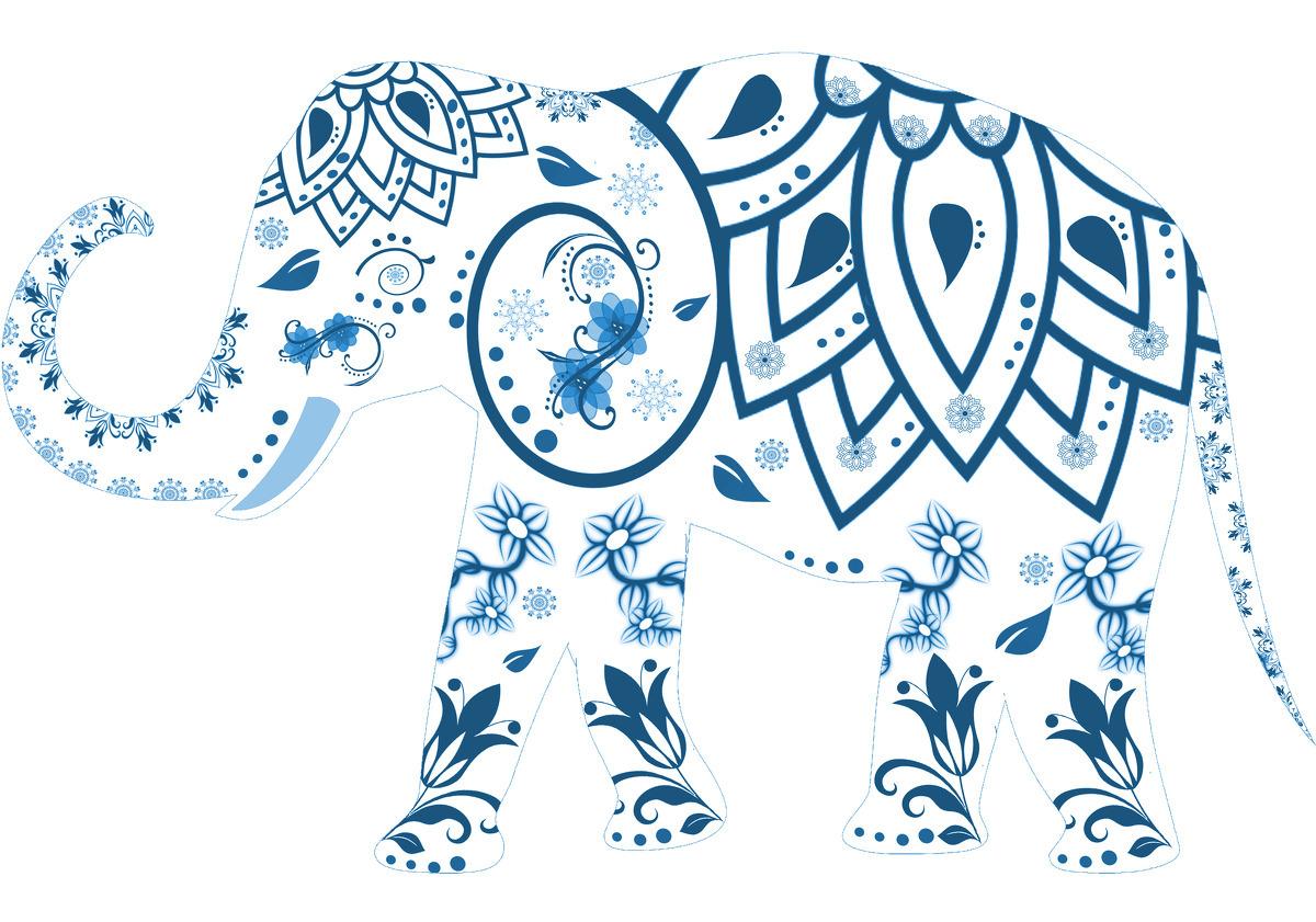 Elefant indi.