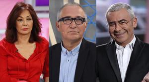 Ana Rosa Quintana, Xavier Sardà i Jorge Javier Vázquez