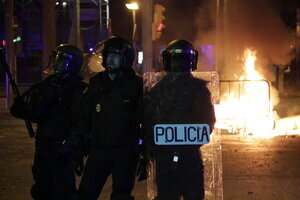Antiavalots de la Policia Nacional
