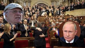 Dirigents russos, en una trama per donar suport a la DUI catalana